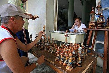 Devotional tools, Santiago de Cuba, Cuba, West Indies, Central America