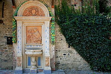 Aedicula, Grazzano Visconti, Emilia Romagna, Italy, Europe