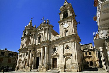 Cathedral, Palma di Montechiaro, Sicily, Italy, Europe