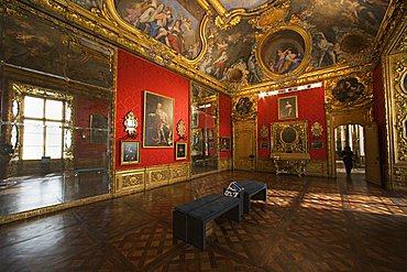 First floor dedicated to Baroque, Camera di Madama Reale, Palazzo Madama, Turin, Piedmont, Italy, Europe