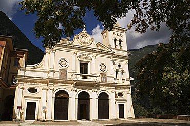 Madonna del Pettoruto sanctuary, San Sosti, Pollino national park, Calabria, Italy, Europe