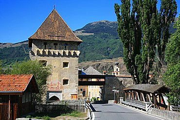 Glorenza, Val Venosta, Trentino Alto Adige, Italy, Europe