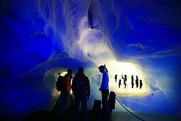 Under the glacier, Saas-Fee, Vallese, Switzerland, Europe