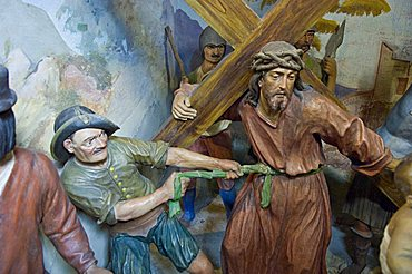 Via crucis sanctuary, Cerveno, Lombardy, Italy