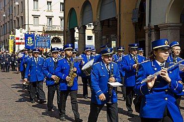 Liberation feast of april 25, Modena, Emilia Romagna, Italy