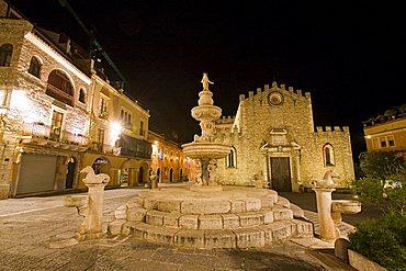 Cathedral, Taormina, Sicily, Italy