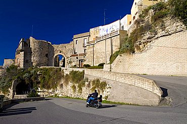 Daily life, Rometta, Sicily, Italy