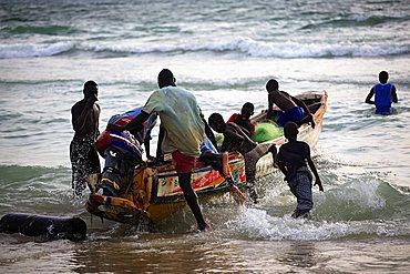 Atlantic Ocean, Saint-Louis, Republic of Senegal, Africa
