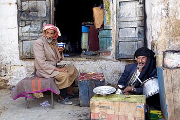 Daily life, Al Tawila, Yemen, Middle East