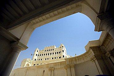 Sultan Palace, Seyun, Yemen, Middle East