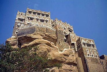 Dar al-Hajar, Wadi Dhahar, Yemen, Middle East