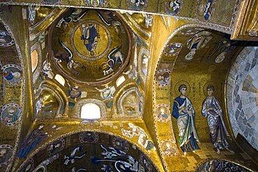 Martorana Santa Maria dell'Ammiraglio Church, Palermo, Sicily, Italy