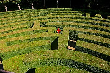 Labyrinth, Villa Pisani, Stra, Veneto, Italy