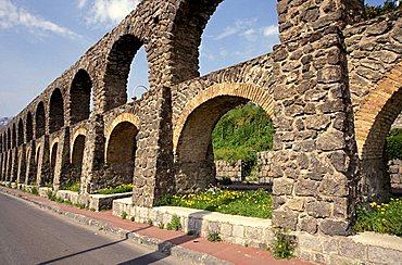 Roman aqueduct, Ischia, Campania, Italy.
