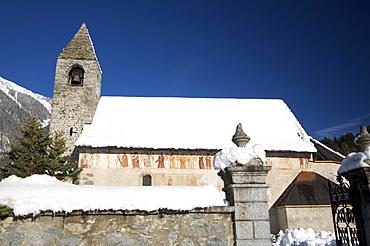 San Vigilio church, Pinzolo, Val Rendena, Trentino Alto Adige, Italy