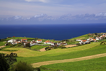 Landscape, Algarvia, Sao Miguel Island, Azores, Portugal, Europe