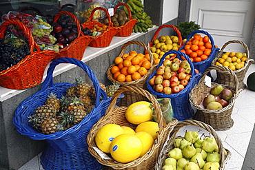 Fruits, Furnas, Sao Miguel Island, Azores, Portugal, Europe