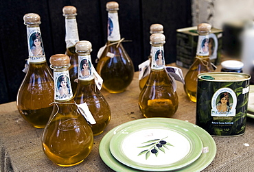 Local production of extra virgin olive oil, Sirince, Turkey, Europe