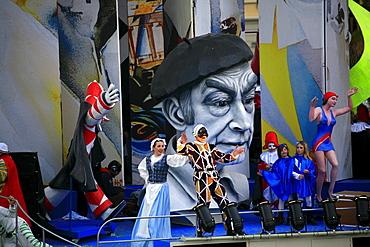 Viareggio Carnival, Viareggio, Lucca, Tuscany, Italy - 746-56177
