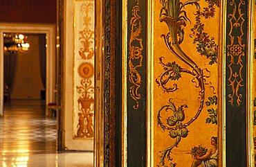 Interior of Palazzo Reale, Naples, Campania, Italy