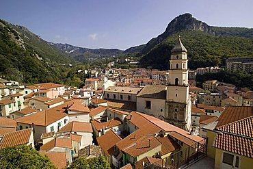 Campagna village, Picentini mountain, Salerno, Campania, Italy, Europe