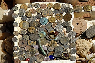 Fake ancient coins, Jordan, Middle East