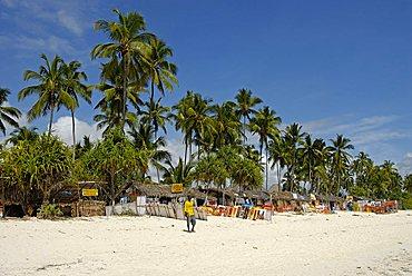 Leonardo da Vinci Art Gallery on the beach, Zanzibar, United Republic of Tanzania, Africa