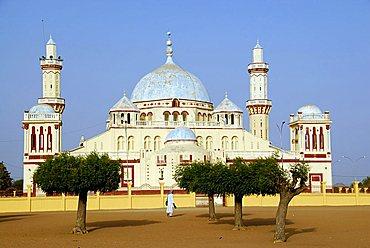 Mosque in Diourbel, Republic of Senegal, Africa