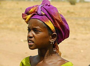 Peul young woman, Republic of Senegal, Africa