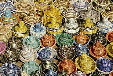 Traditional basket, Republic of Senegal, Africa