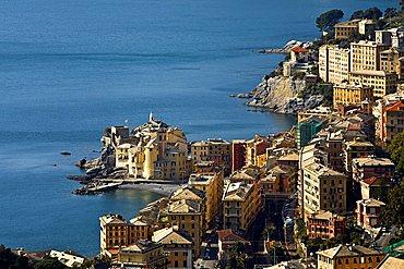 Village view, Camogli, Ligury, Italy