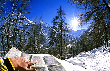 Going to Vittorio Sella refuge, Valnontey, Cogne Valley, Gran Paradiso National Park, Italy