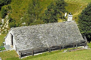 Mountain hut, Val Vigezzo, Ossola Valley, Italy