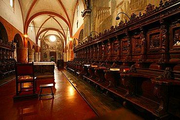 Abbazia di Chiaravalle abbey, Chiaravalle Milanese, Lombardy, Italy, Europe