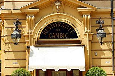 Ristorante del Cambio restaurant, Piazza Carignano square, Turin, Piedmont, Italy, Europe