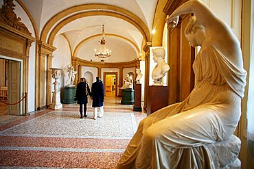 Sala I, Modern Art Museum, Villa Reale, Galleria d'Arte Moderna, Via Palestro 16, Milan, Lombardy, Italy, Europe