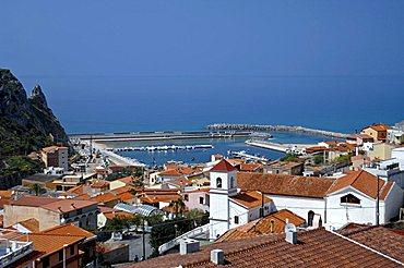 Cityscape, Buggerru, Sulcis, Iglesiente, Carbonia, Iglesias, Sardinia, Italy