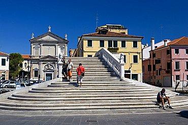 Santa Croce Church, Chioggia, Veneto, Italy
