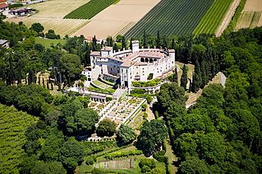 Castel Grimani-Sorini, Montegalda, Vicenza, Veneto, Italy