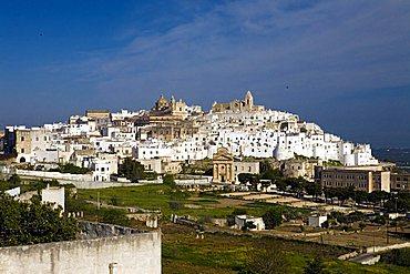 Cityscape, Ostuni, Puglia, Italy