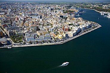 Cityscape, Brindisi, Puglia, Italy