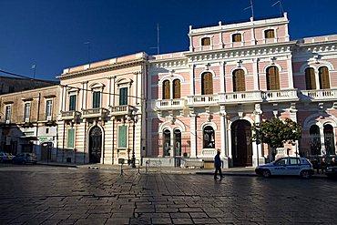 Foreshortening, Historic centre, Manduria, Puglia, Italy