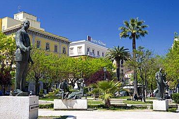 Piazza Ugo Giordano, Foggia, Puglia, Italy