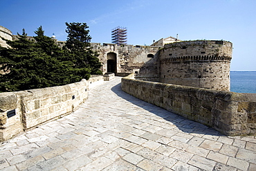 Sant'Angelo castle, Taranto, Puglia, Italy