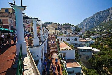 Capri Island, Naples, Campania, Italy, Europe
