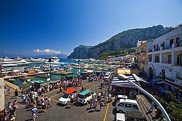 port Capri Island, Naples, Campania, Italy, Europe