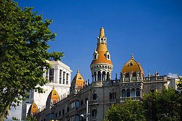 Architecture, Catalunya square, Barcelona, Spain, Europe