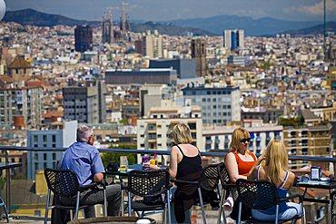 City view, Barcelona, Spain, Europe