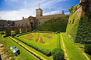 Montjuic Castle, Barcelona, Spain, Europe