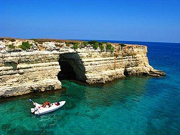 Seaside, Otranto, Puglia, Italy